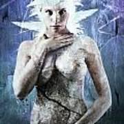 Goddess Of Water Art Print