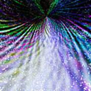 Goddess Stardust Creating Butterfly Art Print