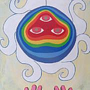 Goddess Wizard Art Print