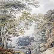 Godinton, Near Ashford, Kent Art Print