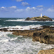 Godrevy Lighthouse - 5 Art Print