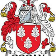 Gogan Coat Of Arms Irish Art Print