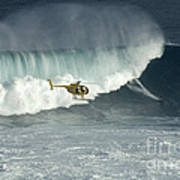 Going Left At Jaws Art Print