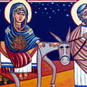 Going To Bethlehem Art Print