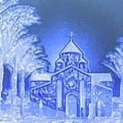 Going To Church On Christmas Art Print