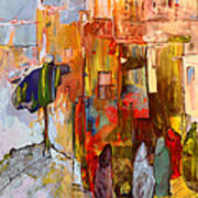 Going To The Medina In Morocco Art Print