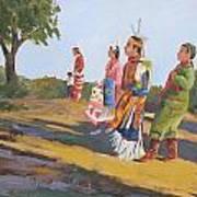 Going To The Powwow Art Print