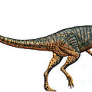 Gojirasaurus Dinosaur Art Print