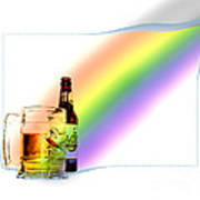 Gold At The End Of The Rainbow Art Print