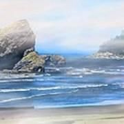 Gold Beach Oregon Art Print