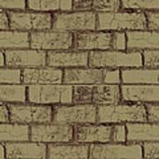 Gold Bricks Art Print