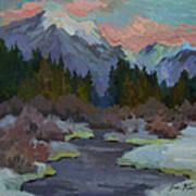 Gold Creek Snoqualmie Pass Art Print
