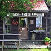 Gold Hill Post Office Art Print