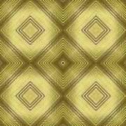 Gold Metallic 14 Art Print