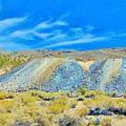 Gold Mine Tailings Art Print
