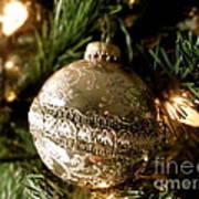 Gold Ornament Art Print