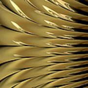 Gold Ridges Art Print