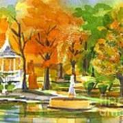 Golden Autumn Day Art Print