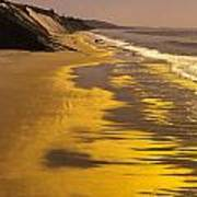 Golden Beach Sunrise Art Print