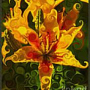 Golden Beauties Art Print