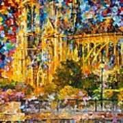 Golden Castle Art Print