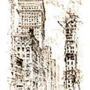 Golden Cornice 1904 Art Print