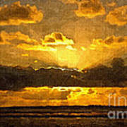 Golden Dawn - Canvas Art Print