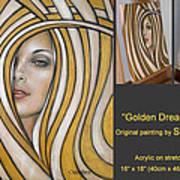 Golden Dream 060809 Comp Art Print