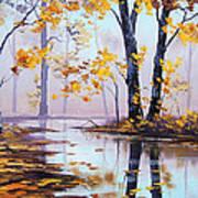 Golden Fall Art Print by Graham Gercken