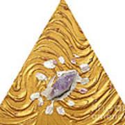 Golden Flow Creator Art Print