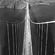 Golden Gate Bridge In 1937 Art Print