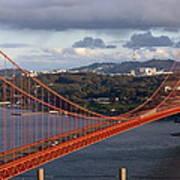 Golden Gate Bridge Overlook Art Print