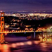 Golden Gate Bridge Art Print by Robert Rus