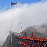Golden Gate Bridge San Francisco California Art Print
