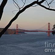 Golden Gate Bridge - San Francisco California Art Print