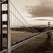 Golden Gate Glory Art Print