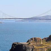 Golden Gate Panorama 8027 8030 Art Print