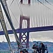 Golden Gate Sailing Art Print
