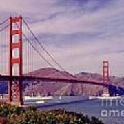 Golden Gate San Francisco Art Print