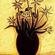 Golden Glories Art Print