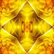 Golden Harmony  Art Print