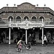 Golden Horseshoe Frontierland Disneyland Sc Art Print