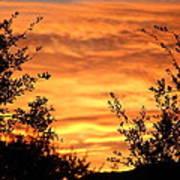 Golden Hour Sunset Art Print