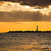 Golden Rays At Cape May Art Print