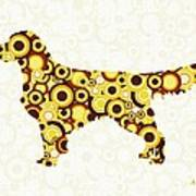 Golden Retriever - Animal Art Art Print