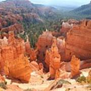 Golden Rocks Of Bryce Canyon  Art Print