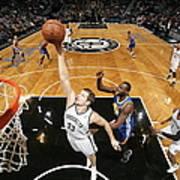 Golden State Warriors V Brooklyn Nets Art Print