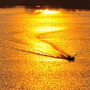 Golden Sun Art Print