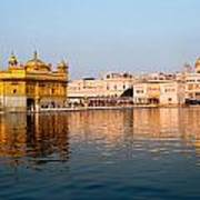 Golden Temple And Akal Takht Art Print