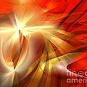 Golden Tulip - Marucii Art Print